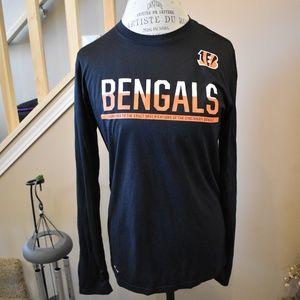 Nike NFL Equipment Dri Fit Long Sleeve Bengals Top